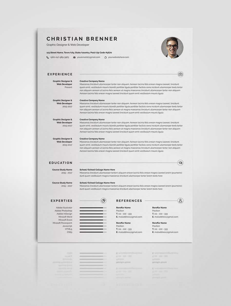 Entry 36 By Mehfuz780 For 10 Original Cv Templates Cover
