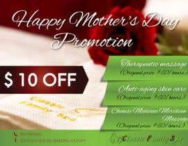 #17 for Design a Mothers day Promotional Banner for a spa by LaGogga