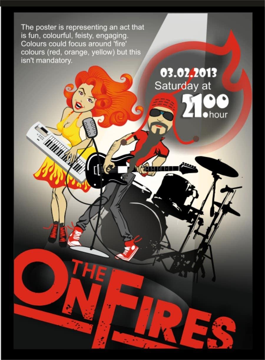 Bài tham dự cuộc thi #                                        2                                      cho                                         Poster Design for Rock Tour