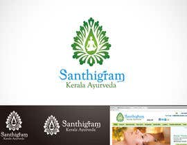 #101 для Logo Design for Santhigram Kerala Ayurveda от Mackenshin