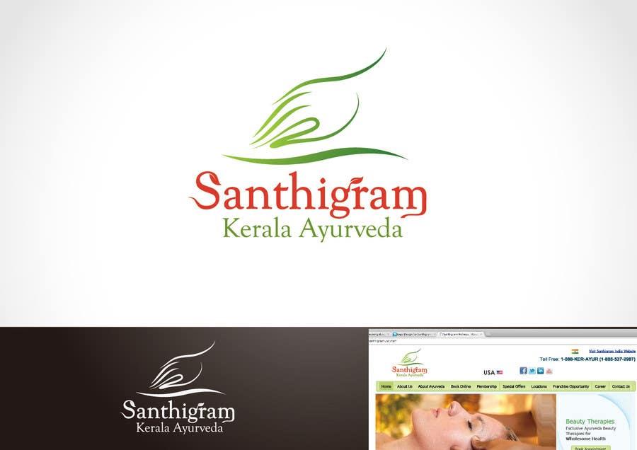 Конкурсная заявка №43 для Logo Design for Santhigram Kerala Ayurveda