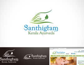 #60 для Logo Design for Santhigram Kerala Ayurveda от Mackenshin