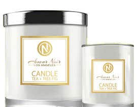 #19 for Label for a candle af mlamus