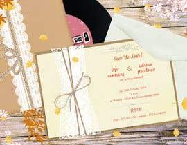 Nro 8 kilpailuun Wedding Invite käyttäjältä abyadh95
