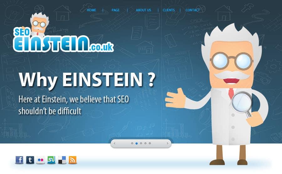 Penyertaan Peraduan #23 untuk Graphic Design for SEO Einstein