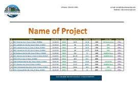 #25 para Need To Make Excel Form Professional Design de mdayub15777