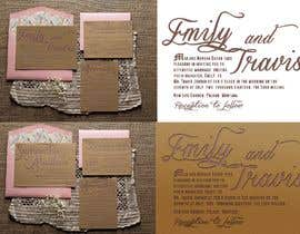 #5 untuk Design my wedding invitation oleh Sandufus