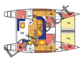 #7 for I need some Graphic Design - Boat Layout Diagram by mtalha88