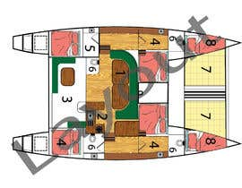 #11 for I need some Graphic Design - Boat Layout Diagram by mtalha88