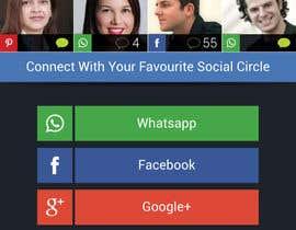 Nro 29 kilpailuun Design an App Mockup for a 2 page App käyttäjältä shiladutta