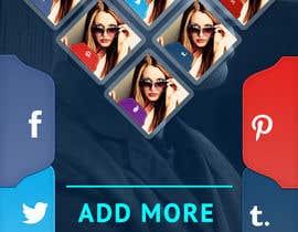 Nro 22 kilpailuun Design an App Mockup for a 2 page App käyttäjältä sunnyGoldeneye