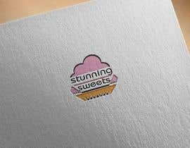 #55 untuk I need a logo for a bakery the name is Stunning Sweets the primary colors she wants are pink, gold, black, and white oleh RUBELL718573
