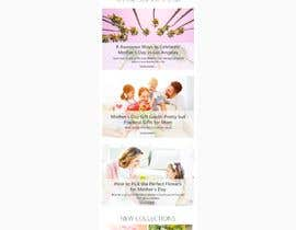 nº 8 pour Mailchimp E-Newsletter par jokaidesigns