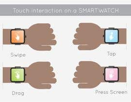 #5 cho Graphic images for touch interaction on a smartwatch bởi NaturalFitness20