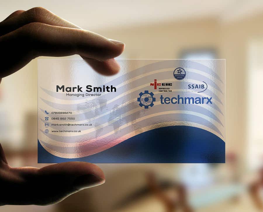 Entry 90 by rokib6521 for design some plastic business cards contest entry 90 for design some plastic business cards reheart Images
