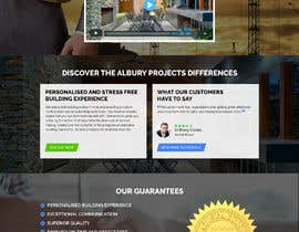 nº 28 pour Design Home page for a Website (PSD) - Urgent par asimpatra24