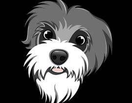 nº 10 pour Make a mascot of my puppy's head par debdanginu86