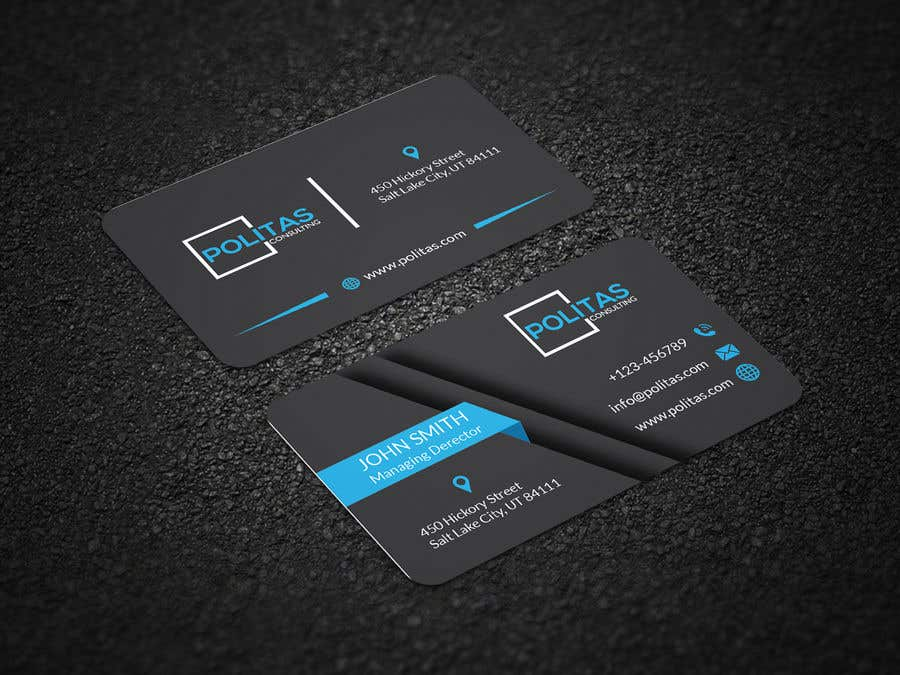 Entry 579 By Graphicsghar For Design Some Business Cards Freelancer