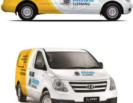 #10 for Van design and matching brochure design for a Cleaning Company by ravi05july
