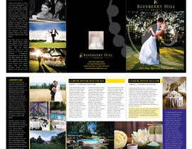 #33 cho Graphic Design for MARKETING BROCHURE -Blueberry Hill Estate- Wedding Specific -Media Kit for print bởi unidot