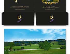 #61 cho Graphic Design for MARKETING BROCHURE -Blueberry Hill Estate- Wedding Specific -Media Kit for print bởi midget