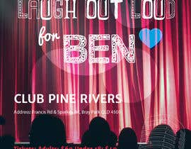 #66 for Fundraiser Flyer - Laugh Out Loud for Ben - or - LOL for Ben by DianaNin