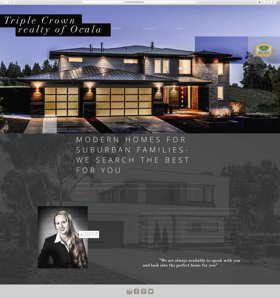 Entry 23 By Artqultcreative For Build A Simple Real Estate Website