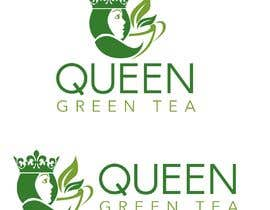 "#3 untuk logo design for a prestigious green tea brand .. name of the brand is ""Queen"" so the logo has to be very royal , should have the touch of a queens crown preferably have resemblance of the queen figure like on a deck of playing cards, should have a green l oleh tlacandalo"