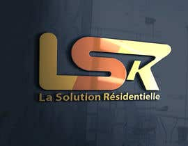 #58 для Design a Logo for the company: La Solution Résidentielle від nibir33741