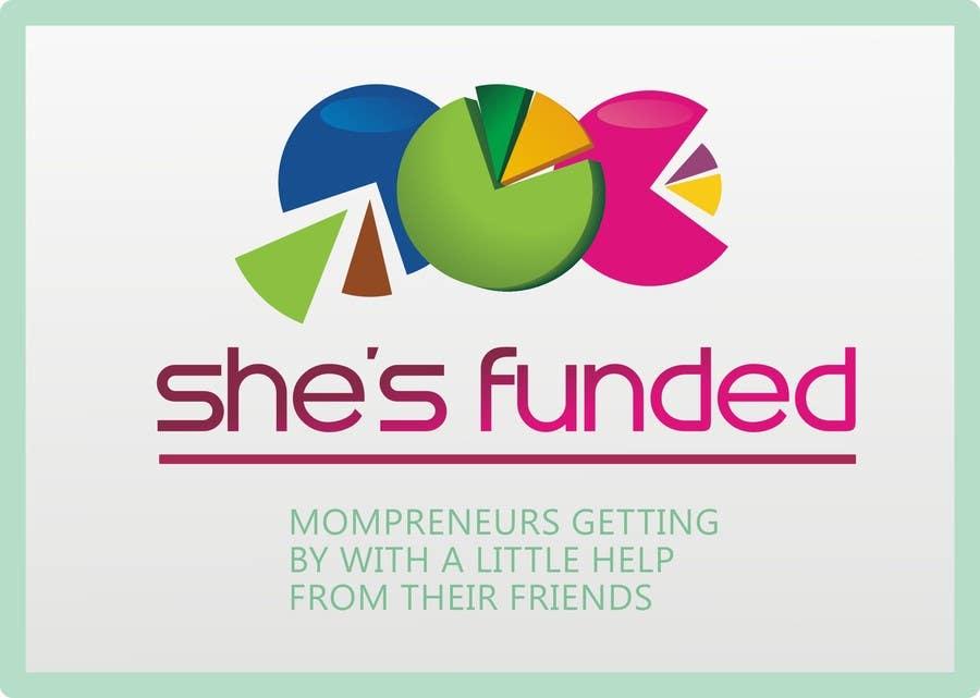 Inscrição nº 166 do Concurso para Logo Design for She's Funded