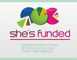 #166 para Logo Design for She's Funded por paramiginjr63