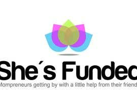 #204 para Logo Design for She's Funded por trying2w