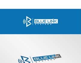 nº 393 pour logo for a firm named Blue Link Systems par tieuhoangthanh