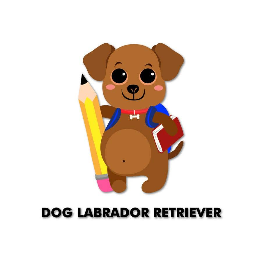 Wettbewerbs Eintrag #16 für Logo design - Cartoon Dog Drawing logo