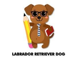 #24 for Logo design - Cartoon Dog Drawing logo by liizbarbosa11