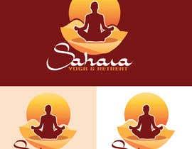 #218 para Design a Logo for Yoga-Trips into the desert de NatachaHoskins