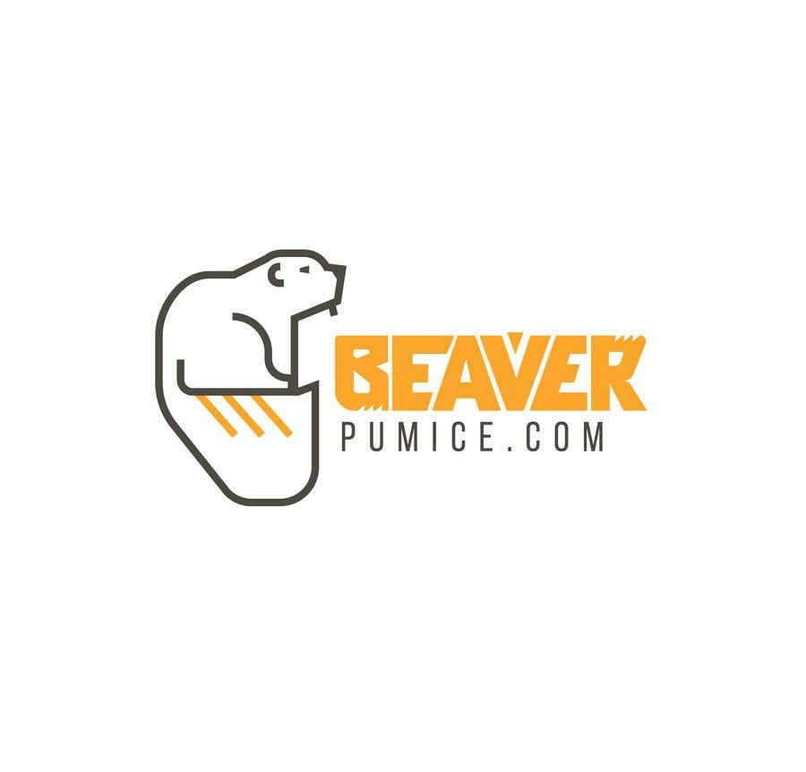 Participación en el concurso Nro.41 para Logo Beaver Pumice - Custom beaver logo