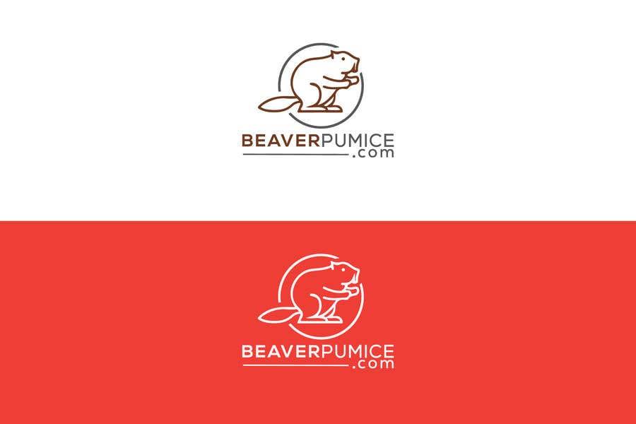Participación en el concurso Nro.113 para Logo Beaver Pumice - Custom beaver logo