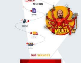 #8 Mockup Redesign of existing Website részére moatazazab5 által