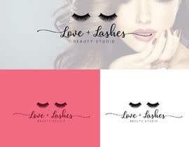 #139 cho Logo Contest:: Love + Lashes Beauty Studio bởi sharminbohny
