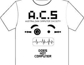 #328 for T-shirt Design for Australian Computer Society by Padiwan