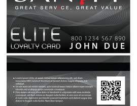 """Nro 23 kilpailuun Design a Loyalty Card for """"Sanity"""" käyttäjältä cornelee"""