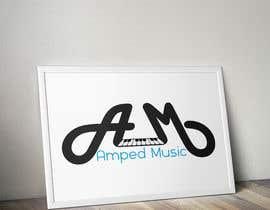 """mohamed5alil tarafından Create a logo for """"Amped Music"""" için no 101"""