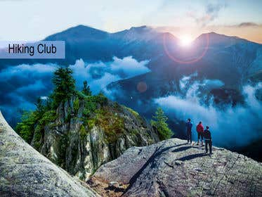 Image de                             Flyer for Hiking Club