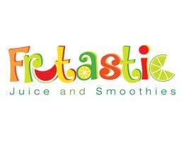 #50 para Design a Logo for New Juice n Smoothies Kiosk called Frutastic por olgakramar