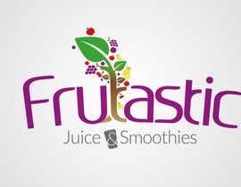 #93 para Design a Logo for New Juice n Smoothies Kiosk called Frutastic por cbastian19