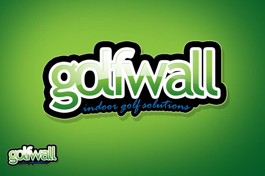 Konkurrenceindlæg #2 for Logo Design for Courtwall-Golfwall International, Switzerland