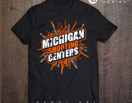 #101 for Michigan Shooting Centers T-Shirt Design Contest! af reyryu19
