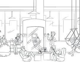 #6 for Scene Creation - Flat Designing: Creating a Reception Scene by PlutusEnt