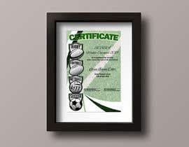 #9 cho Design a Certificate bởi DwayneMeck